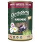 CHRISTOPHERUS Hunde-Nassfutter »Hundemenü«, Rentier, 400 g-Thumbnail