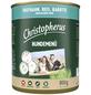 CHRISTOPHERUS Hunde-Nassfutter »Hundemenü«, Truthahn, 800 g-Thumbnail