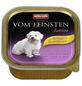 VOM FEINSTEN Hunde-Nassfutter »Junior«, Geflügel/Pute, 150 g-Thumbnail