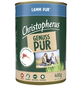 CHRISTOPHERUS Hunde-Nassfutter »Pur«, Lamm, 400 g-Thumbnail