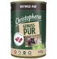 CHRISTOPHERUS Hunde-Nassfutter »Pur«, Wild, 400 g-Thumbnail