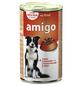 Amigo Hunde Nassfutter, Rind, 1240 g-Thumbnail