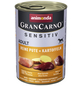 GranCarno® Hunde-Nassfutter »Sensitive«, Pute/Kartoffel, 400 g-Thumbnail