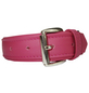 Hundehalsband, Größe: 35  cm, Rindsleder, pink-Thumbnail