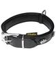 Hundehalsband, Größe: 45  cm, Rindsleder, schwarz-Thumbnail