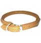Hundehalsband, Größe: 50  cm, Rindsleder, cognacfarben-Thumbnail