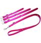 Hundehalsband, Größe: 50  cm, Rindsleder, pink-Thumbnail