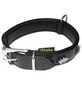Hundehalsband, Größe: 50  cm, Rindsleder, schwarz-Thumbnail