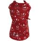 Amtra Hundemantel, rot, mit Gummiband, Muster: bedruckt-Thumbnail