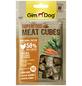 GIMDOG Hundesnack »Meat Cubes«, Huhn  /  Karotte  /  Spinat, 8x40 g-Thumbnail