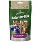 CHRISTOPHERUS Hundesnack »Natur-Im-Biss«, Ente/Seelachs, 70 g-Thumbnail