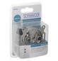 SCHWAIGER IEC-Antennendose, Silber, Aluminium, Breitbandkabel- und SAT-Anlagen-Thumbnail