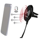 EUFAB Induktionsladegerät mit magn. Handyhalter, Schwarz, Micro-USB-A / USB-B-Thumbnail