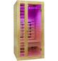 HOME DELUXE Infrarotkabine »Redsun S Deluxe« für 1 Person, Fronteinstieg, mit Farblichtanwendung-Thumbnail