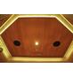 HOME DELUXE Infrarotkabine »Redsun XL Deluxe« für 3 Personen, Fronteinstieg, mit Farblichtanwendung-Thumbnail