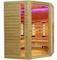 HOME DELUXE Infrarotkabine »Redsun XXL Deluxe« für 4 Personen, Fronteinstieg, mit Farblichtanwendung-Thumbnail