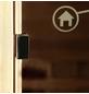 HOME DELUXE Infrarotkabine »Sahara XXL VSS« für 4 Personen, Eckeinstieg, mit Farblichtanwendung-Thumbnail