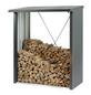 BIOHORT Kaminholzlager »WoodStock 150«, BxHxL: 157 x 199 x 102 cm, dunkelgrau-metallic-Thumbnail