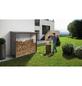 BIOHORT Kaminholzlager »WoodStock«, Außenmaße B x T x H: 229  x 102  x 199  cm-Thumbnail