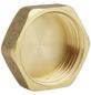 "SANITOP-WINGENROTH Kappe, Messing, goldfarben, 1"", Sechskant-Thumbnail"