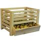 FLORAWORLD Kartoffelhorde, BxHxL: 50 x 40 x 60 cm, Holz-Thumbnail