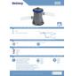 BESTWAY Kartuschenfilter »Flowclear «, Max. Durchflussmenge: 1,2 m³/h-Thumbnail