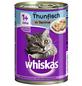 WHISKAS Katzen Nassfutter »1+ Jahre«, Thunfisch, 12x400 g-Thumbnail