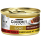 GOURMET Katzen-Nassfutter, 85 g, Rind/Huhn/Tomate-Thumbnail