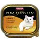 VOM FEINSTEN Katzen-Nassfutter »Adult«, Geflügel/Nudeln, 100 g-Thumbnail