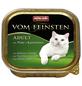 VOM FEINSTEN Katzen-Nassfutter »Adult«, Pute/Kaninchen, 32 Schalen, je 100 g-Thumbnail
