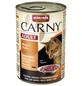 CARNY® Katzen-Nassfutter »Adult«, Rind/Huhn, 400 g-Thumbnail
