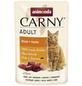 CARNY® Katzen-Nassfutter »Adult«, Rind/Huhn, 85 g-Thumbnail