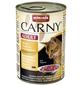 CARNY® Katzen-Nassfutter »Adult«, Rind/Huhn/Ente, 400 g-Thumbnail