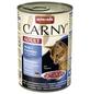 CARNY® Katzen-Nassfutter »Adult«, Rind/Kabeljau/Petersilie, 400 g-Thumbnail