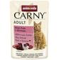 CARNY® Katzen-Nassfutter »Adult«, Rind/Pute, 85 g-Thumbnail