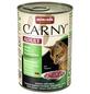 CARNY® Katzen-Nassfutter »Adult«, Rind/Pute/Kaninchen, 400 g-Thumbnail