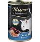 MIAMOR Katzen Nassfutter »Feine Beute«, Lachs, 12x400 g-Thumbnail