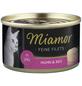 MIAMOR Katzen Nassfutter »Feine Filets in Jelly«, Huhn / Reis, 24x100 g-Thumbnail
