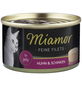 MIAMOR Katzen Nassfutter »Feine Filets in Jelly«, Huhn / Schinken, 24x100 g-Thumbnail