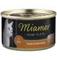 MIAMOR Katzen Nassfutter »Feine Filets in Jelly«, Thunfisch / Wachtel, 24x100 g-Thumbnail
