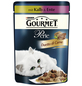 GOURMET Katzen Nassfutter »Gourmet Perle Duetto di Carne«, Kalb / Ente, 24x85 g-Thumbnail