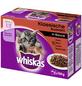 WHISKAS Katzen-Nassfutter, Huhn/Rind/Lamm/Kaninchen, 1200 g-Thumbnail