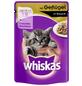 WHISKAS Katzen Nassfutter »in Sauce«, Geflügel, 24x100 g-Thumbnail