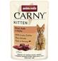CARNY® Katzen-Nassfutter »Kitten«, Rind/Kalb, 85 g-Thumbnail