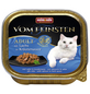 VOM FEINSTEN Katzen-Nassfutter, Lachs/Kräuter, 100 g-Thumbnail