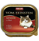VOM FEINSTEN Katzen-Nassfutter »Senior«, Rind, 100 g-Thumbnail
