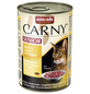 CARNY® Katzen-Nassfutter »Senior«, Rind/Huhn/Käse, 400 g-Thumbnail