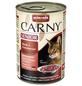CARNY® Katzen-Nassfutter »Senior«, Rind/Pute, 400 g-Thumbnail