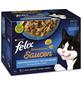 FELIX Katzen Nassfutter »Sensations Saucen«, Lachs / Seelachs / Forelle / Sardinen, 6x6,12 kg-Thumbnail