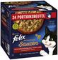 PURINA Katzen Nassfutter »Sensations Saucen«, Truthahn / Rind / Lamm / Ente, 4x8,16 kg-Thumbnail